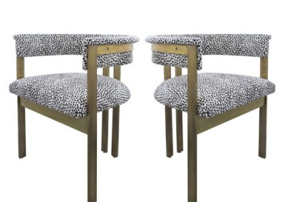 Deco-inspired-Kelly Wearstler chairs