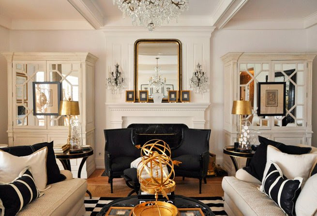 Glam Interior Design hollywood glamour | jade and ginja interior design and decor